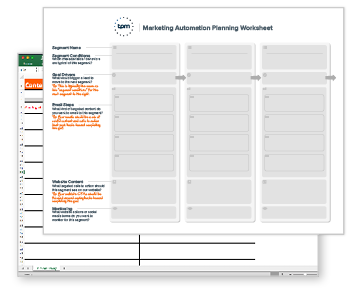 Download the Marketing Automation Worksheets